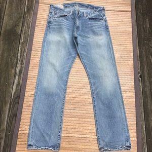 Men's Polo Ralph Lauren Light Wash Jeans 32 X 31